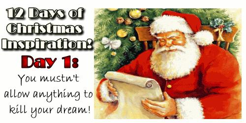 12 Days of Christmas Inspiration from WebIncomeJournal.com