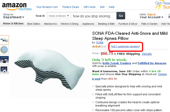 Amazon.com - Stop Snoring